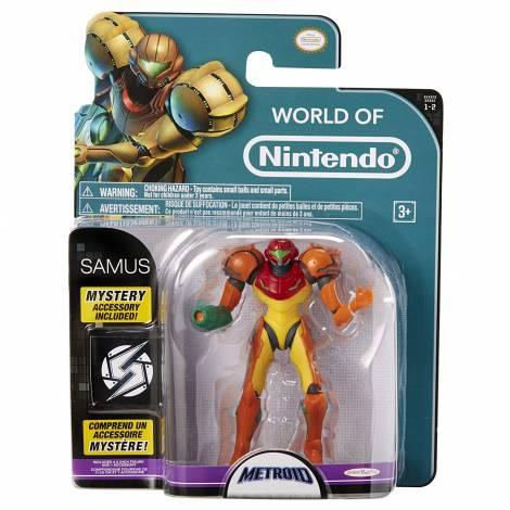 Jakks Pacific World of Nintendo: Metroid - Samus Action Figure (10cm)