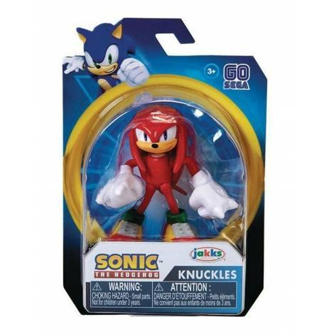 Jakks Sonic The Hedgehog - Φιγούρα 6,5cm Modern Knuckles Σειρά 2 (40371)