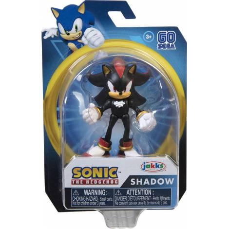 Jakks Sonic The Hedgehog - Φιγούρα 6,5cm Modern Shadow Σειρά 2 (40378)