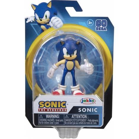 Jakks Sonic The Hedgehog - Φιγούρα 6,5cm Modern Sonic Σειρά 2 (40377)
