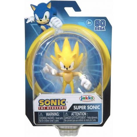 Jakks Sonic The Hedgehog - Φιγούρα 6,5cm Modern Super Sonic Σειρά 2 (40380)