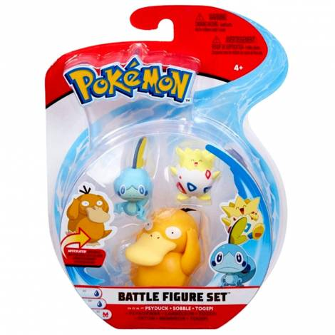 Jazwares : Pokemon Battle Figure (3 τμχ) (JW097921)