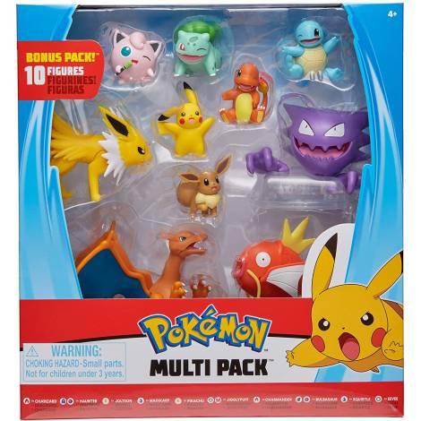 Jazwares : Pokemon Battle Figure Multi Pack  (10 τμχ)  (PKW0267)