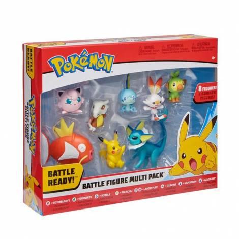 Jazwares : Pokemon Battle Figure Multi Pack (8 τμχ) (PKW0049)