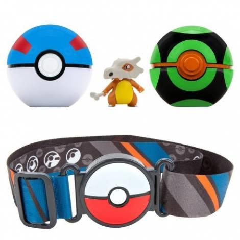 Jazwares : Pokemon Clip 'n' Go Poke Ball Belt Set - Cubone  (PKW0081)