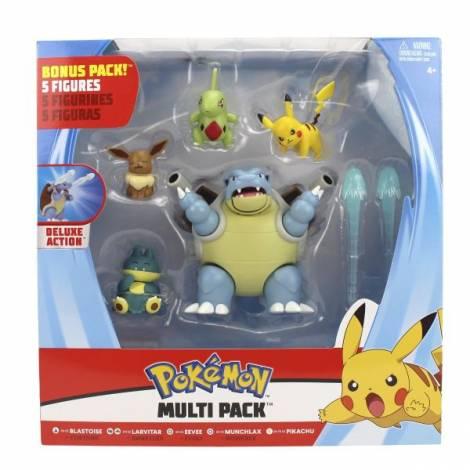 Jazwares : Pokemon Multi Pack 5 Figures (PKW0249)