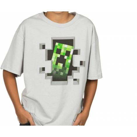 Jinx Minecraft Creeper Inside Youth Tee