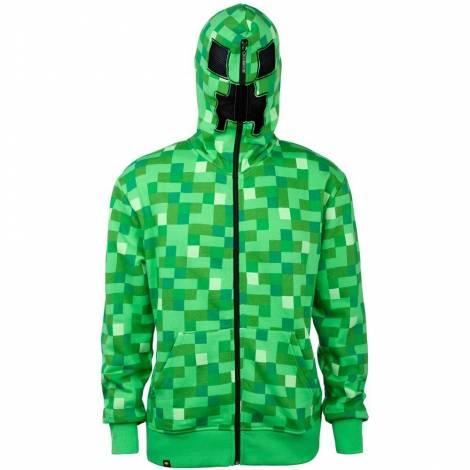 Jinx Minecraft Creeper Premium Zip-up Hoodie
