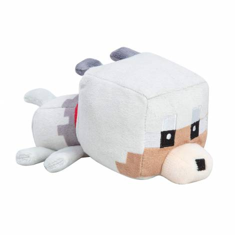 Jinx Minecraft Mini Crafter Tamed Wolf Plush (11cm)
