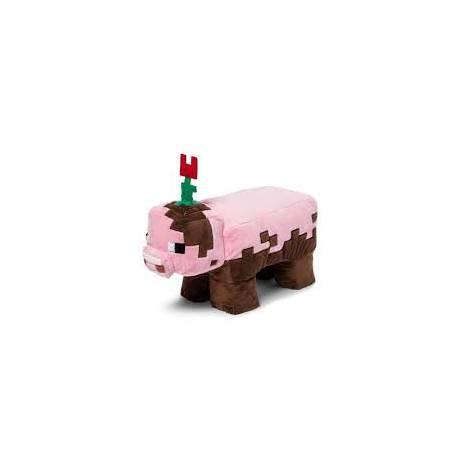 Jinx Minecraft Muddy Pig Plush 20cm