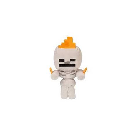 Jinx Minecraft Skeleton On Fire Plush 16cm