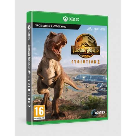 Jurassic World: Evolution 2 (& pre-order Bonus) (Xbox One/Series X)