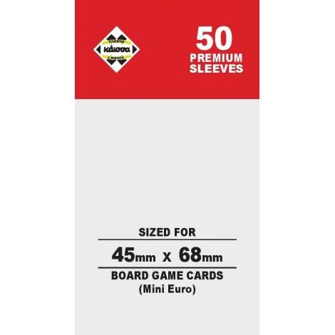 Κάισσα – Premium Sleeves 45x68 (Mini Euro) (50 sleeves) KA112318