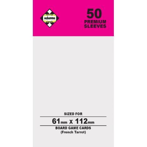 Κάισσα – Premium Sleeves 61x112 (French Tarrot) (50 sleeves) (KA112349)