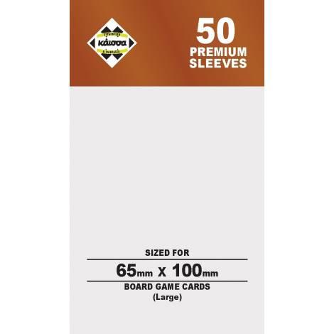Κάισσα – Premium Sleeves 65x100 (Large) (50 sleeves) (KA112370)