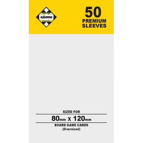 Κάισσα – Premium Sleeves 80x120 (Oversized) (50 sleeves) (KA112387)