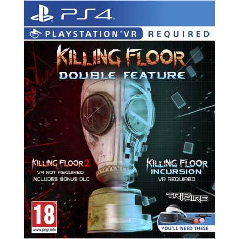 Killing Floor Double Feature (KF2 NON VR KF Incursion VR) (PS4)