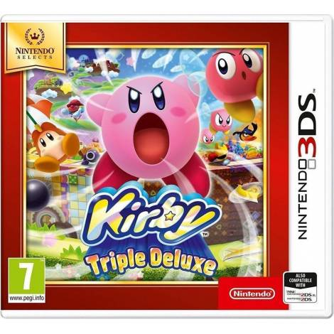 Kirby Triple Deluxe (Selects) (3DS)