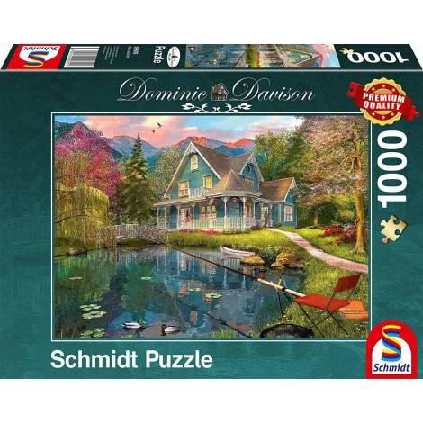 Lakeside Retirement Home 1000pcs (59619) Schmidt Spiele