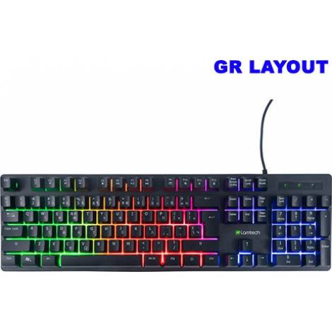 Lamtech wired GR keyboard With Rainbow Backlight (LAM021325)