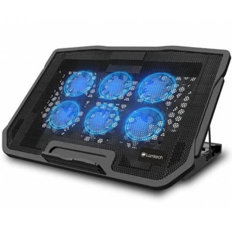 Lamtech Laptop Cooling Flexi Stand 6 Fans (LAM021523)
