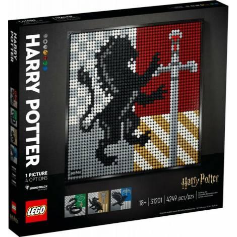 LEGO Art: Harry Potter Hogwarts Crests (31201)