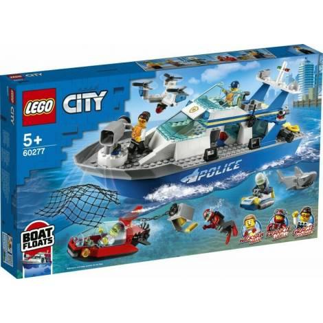 Lego City Police Patrol Boat (60277)