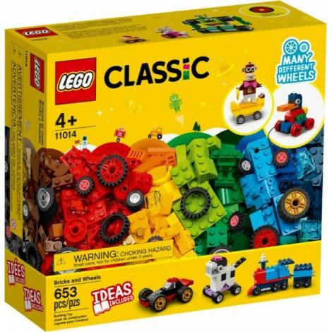 LEGO Classic: Bricks and Wheels (11014)