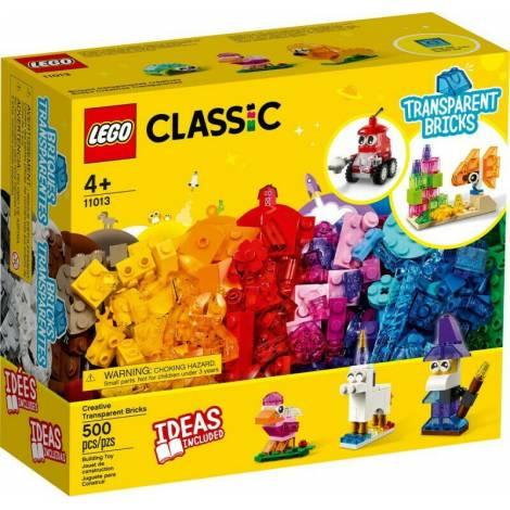 LEGO Classic: Creative Transparent Bricks (11013)