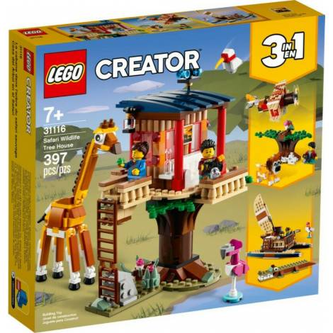 Lego Creator: Safari Wildlife Tree House (31116)