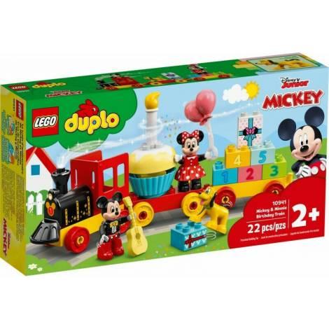 LEGO DUPLO Disney: Mickey & Minnie Birthday Train (10941)