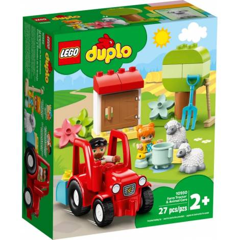 Lego Duplo: Farm Tractor and Animal Care 10950