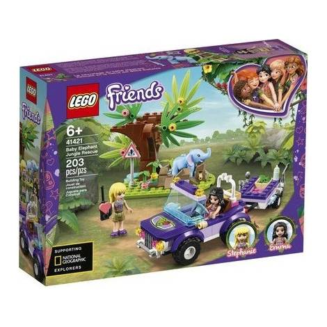 LEGO® Friends: Baby Elephant Jungle Rescue (41421)