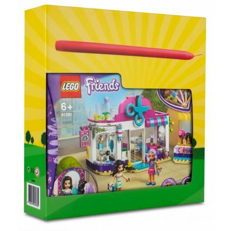 LEGO Friends Heartlake City Hair Salon   (41391) & λαμπάδα