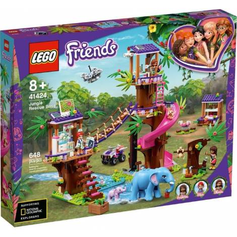 LEGO® Friends: Jungle Rescue Base (41424)