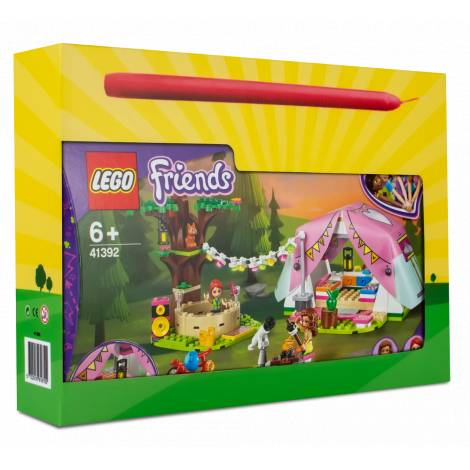 LEGO Friends Nature Glamping  (41392) & λαμπάδα