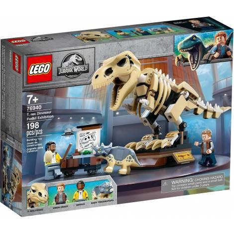 Lego Jurassic World: T. Rex Dinosaur Fossil Exhibition (76940)