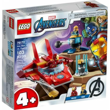 Lego Marvel Avengers Iron Man vs Thanos (76170)