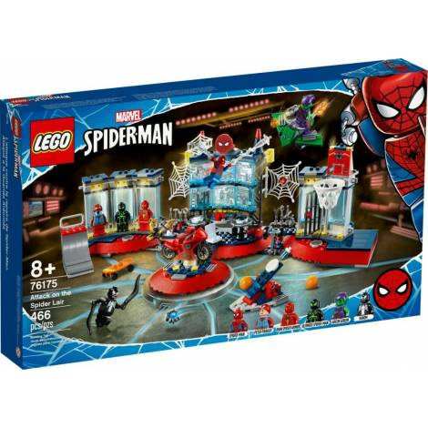 Lego Marvel Spider Man: Attack on the Spider Lair (76175)