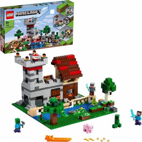LEGO® Minecraft™: The Crafting Box 3.0 (21161)
