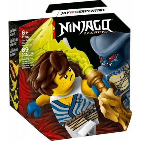 LEGO NINJAGO: Epic Battle Set - Jay vs. Serpentine (71732)