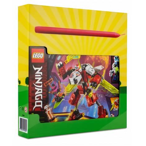 LEGO Ninjago Kai's Mech Jet  (71707) & λαμπάδα
