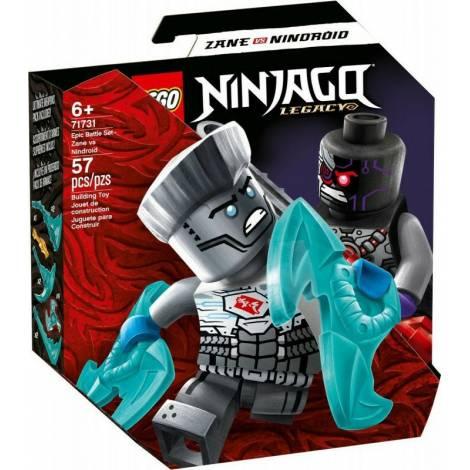Lego Ninjago: Legacy Epic Battle Set Zane Vs Nindroid (71731)