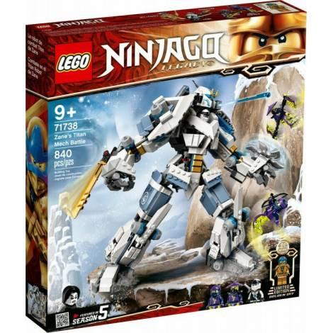 LEGO NINJAGO: Zane's Titan Mech Battle (71738)