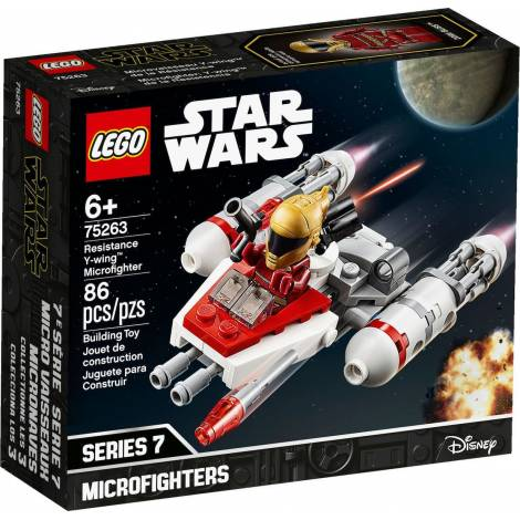LEGO STAR WARS  RESISTANCE Y-WIN MICROFIGHTER (75263)