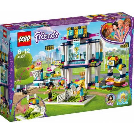 LEGO Stephanie's Sports Arena (41338) - Με πιεσμένο κουτάκι
