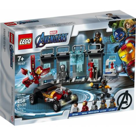 Lego Super Heroes: Iron Man Armory (76167)
