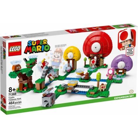 Lego Super Mario: Toad's Treasure Hunt (71368)