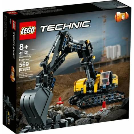 Lego Technic: Heavy-Duty Excavator (42121)