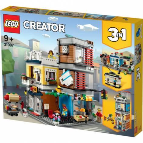 Lego Townhouse Pet Shop & Café (31097)